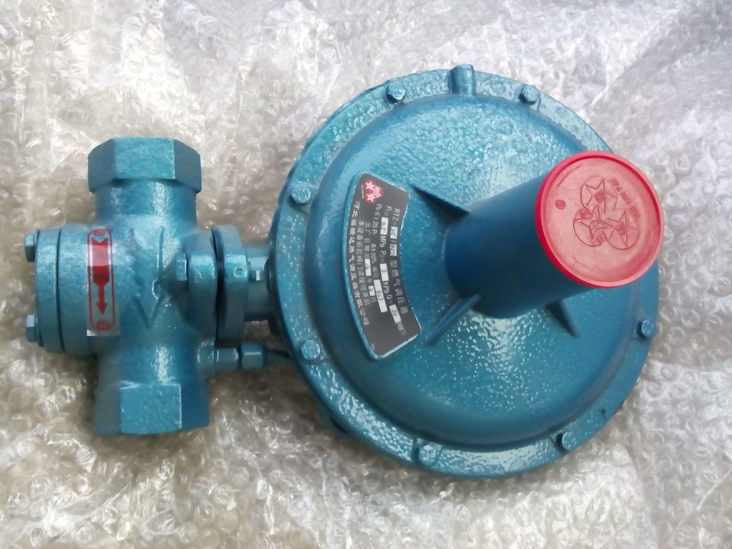 yj25天然气调压阀图片