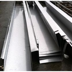无锡不锈钢水槽加工,无锡304不锈钢天沟剪板折弯加工
