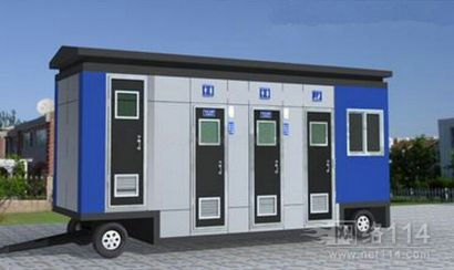 旅游区移动厕所,拖挂式移动厕所