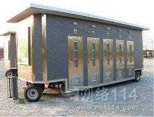 拖车式移动厕所,拖挂式景区卫生间厂家