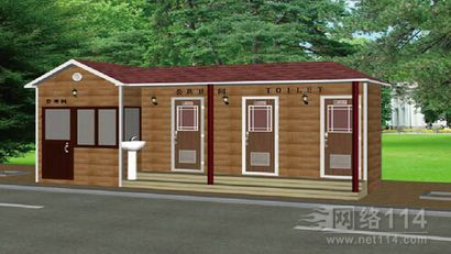 防腐木厕所\\炭化木环保公厕