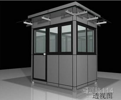 沈阳岗亭,专业的欧式岗亭制造厂家――大连富华钢结构岗亭