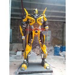 玻璃钢机械人雕塑