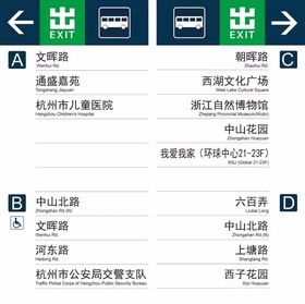 �L盛�髅饺�面覆�w杭州地�F1、2、4���Z音和文字��向�I�詹榭丛��D(�c�舴糯螅�