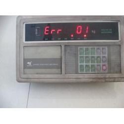 新郑薛店地磅显示器出现Erd及地磅显示器