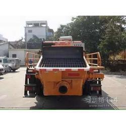 重庆大骨料小型柴电搅拌车载泵