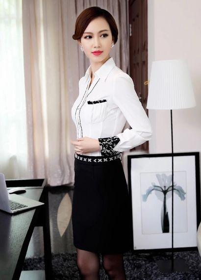 时尚商务衬衣设计