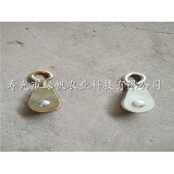 供应万向滑轮塑料滑轮镀锌滑轮大棚材料配件