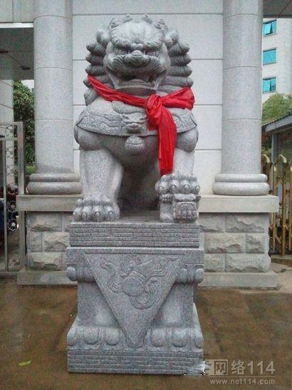 赣州花岗岩石狮子厂家