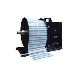 天津标签纸回卷器自动卷纸器条码机卷纸器