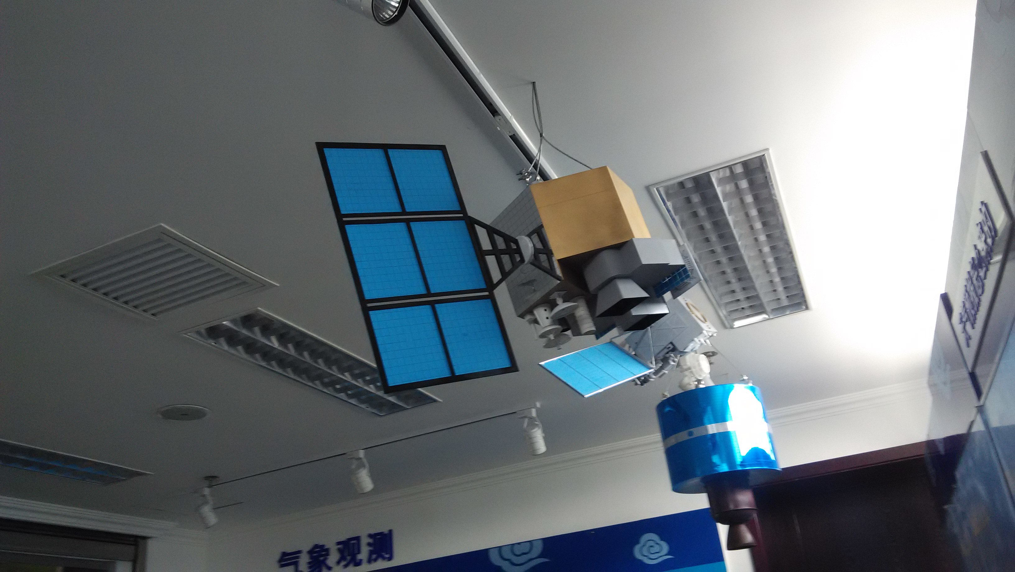 卫星模型制作  材质 铁 类别 几何形状 摆挂形式 摆饰 工艺 半手工半图片